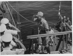 Japanese Surrender Party Boarding HMS Nelson