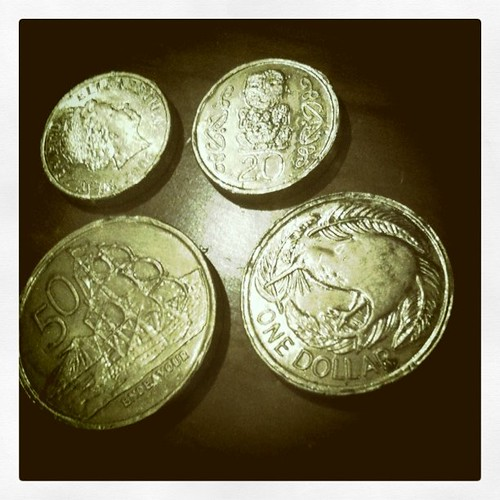 New Zealand Chocolate Coins