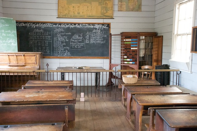 Victorian Classroom at MOTAT, Auckland, New Zealand