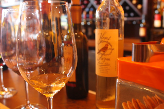 wine tasting with parjanya