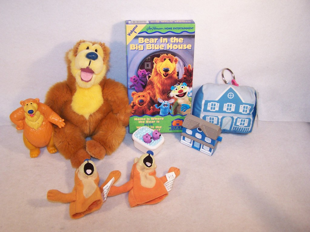 lot of bear in the big blue house a photo on flickriver