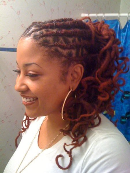 Short Dreadlock Hairstyles for Black Women