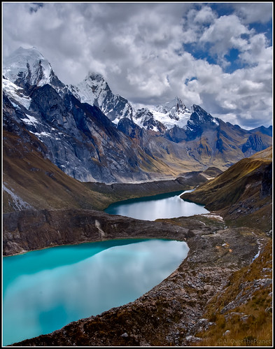 Shades of blue on the Huayhuash Trek in Peru