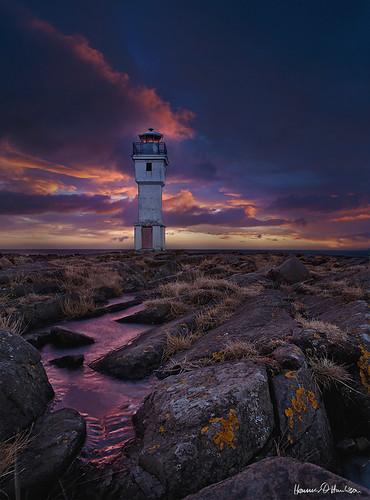 winter sunset lighthouse akranes gamliviti olympusom18mmf35zuiko