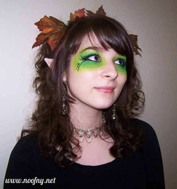 Elf Costume Makeup