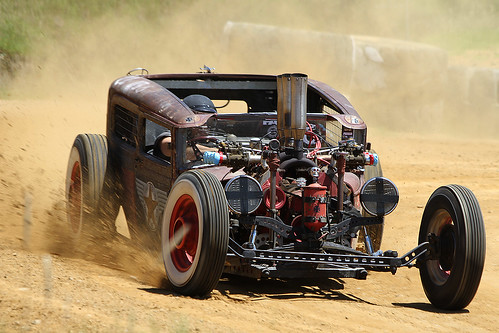 Rat Rod powered by Cadillac