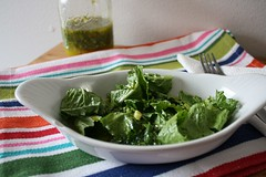 Mojitos viniagrette dressing | Healthy salad dressing from Vermont women's spa