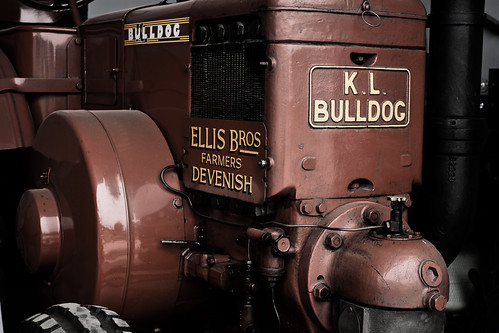 Scienceworks - KL Bulldog Tractor