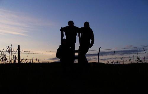 silhouette fence geotagged iceland ísland kirkjubæjarklaustur fenceladder kvennaklif geo:lat=6378935201667675 geo:lon=1806057734924316