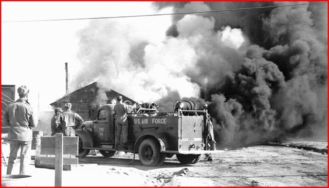 18 Kangnung Korea Gas Truck Fire 1954 | Flickr - Photo Sharing!