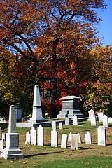 Group of Tombstones
