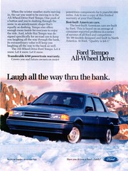 1990 Ford Tempo All-Wheel Drive (USA)