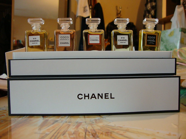 chanel fragrance wardrobe. | Flickr - Photo Sharing