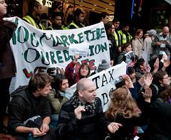 UK Uncut Topshop protest