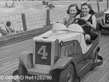 Dodgem cars, Southport, 1948. (GB124.DPA/1262/86).