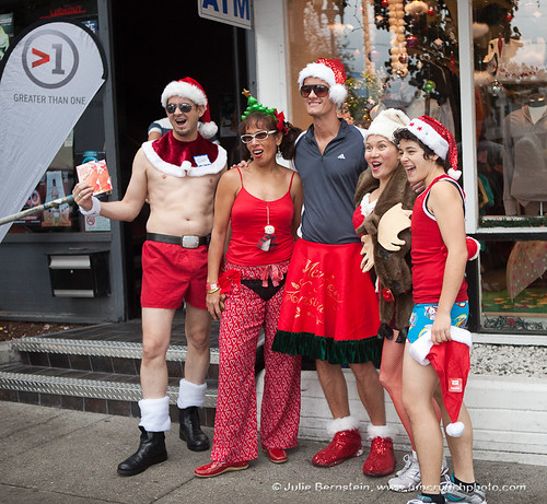 Santa Skivvies Run