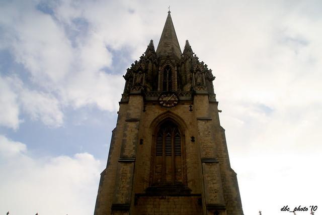Un típica torre de aguja