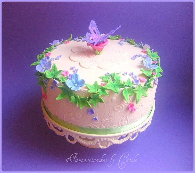 Cake Design Butterfly : Butterfly cake Flickr - Photo Sharing!