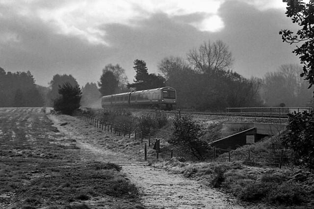 Rails o'er the heath