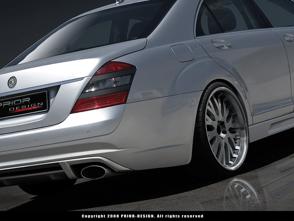 prior design mercedes benz s class s430 s500 s550 s600 s55
