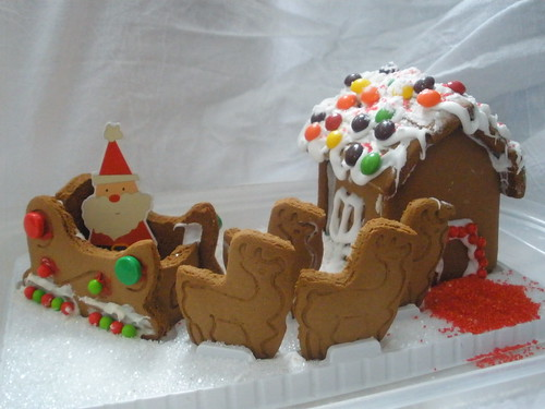 Santa's Sleigh Reindeer and Flight School