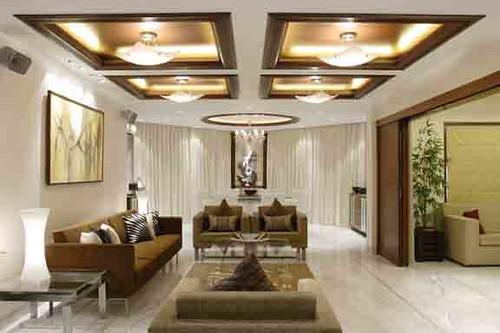 Living Room Interiors by Mahesh Punjabi Associates: Interior Designer, Architect
