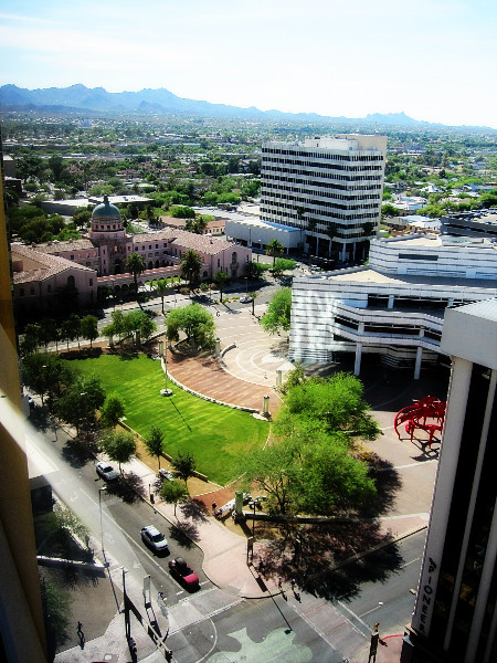 June 2, 2010: View from the 16th floor