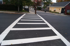 asphalt, sidewalk, road, driveway, lane, residential area, city, public space, road surface, walkway, street, neighbourhood, infrastructure, tarmac, pedestrian crossing, zebra crossing,