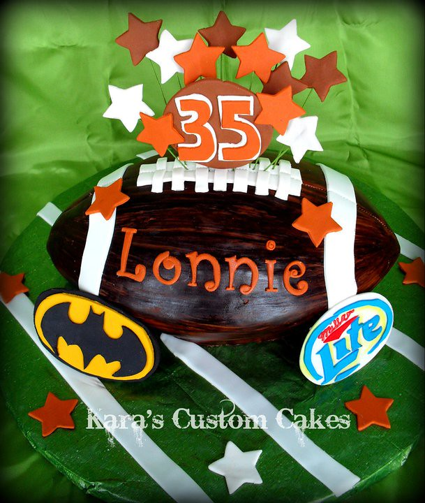 Cleveland Browns Football Cake A Photo On Flickriver