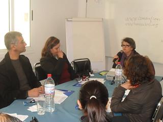 101217 Tunisian journalists hold women's rights workshop 02   الصحفيون التونسيون ينظمون ورشة حول حقوق المرأة   Les journalistes tunisiens organisent un séminaire sur les droits de la femme