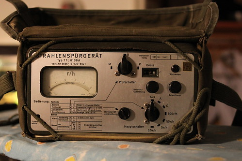 Cold war survey meter