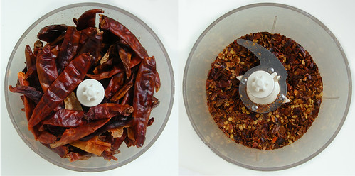 Making your own chili flakes