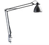 L-1 Task Light with table bracket, black