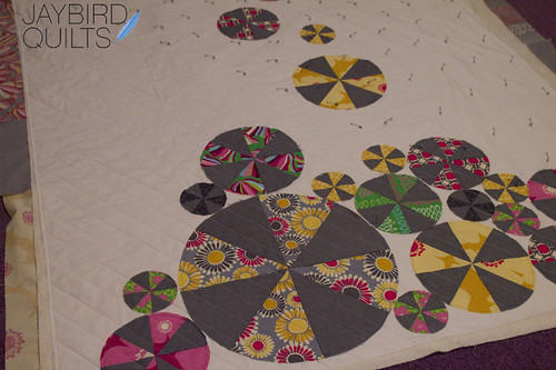 Pinwheels in progress
