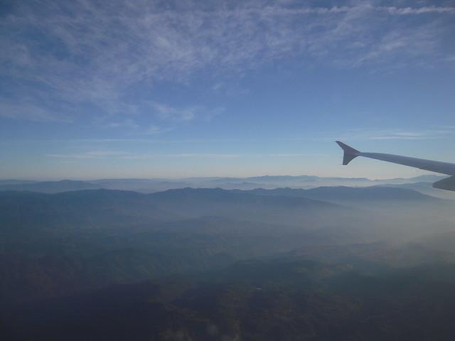Guatemala from sky
