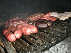 outdoor grill, roasting, grilling, meat, food, dish, cuisine, barbecue grill, cooking,