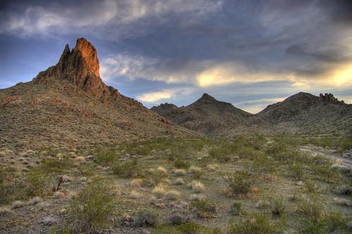 arizona desert hiking hdr pentaxk20d