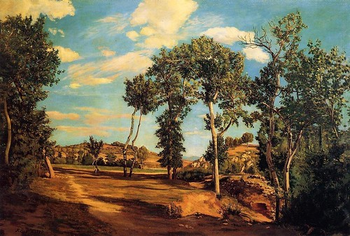 Bazille, Frederic (1841-1870) - 1870 The Banks of the Lez (Minneapolis Institute of Arts, USA)
