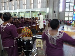 Kayamba and drum
