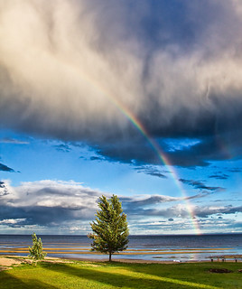 Rainbow on the Lake