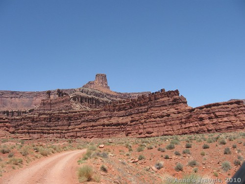 The rough Potash Road in Utah, Canyonlands National Park