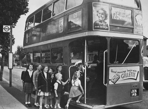 How it used to be !   London transport RT1121 Southgate 1949.
