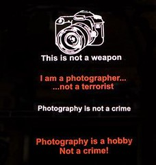 Photography isn't a crime!!!
