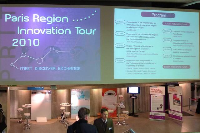 Paris Region Innovation Tour 2010