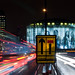Waterloo Bridge Light Trails by Sean Batten by Sean Batten