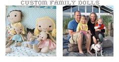 custom family dolls