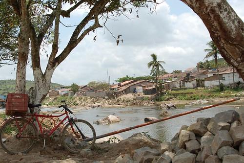 Vista de Quebrangulo, às margens do Rio Paraíba