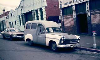 1961 Chrysler Royal Ambulance (and an HQ Holden Premier)