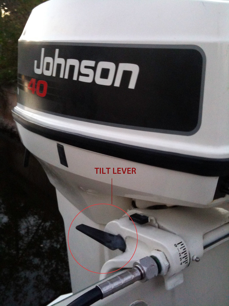 Johnson outboard motor trim problems for Tilt trim motor not working