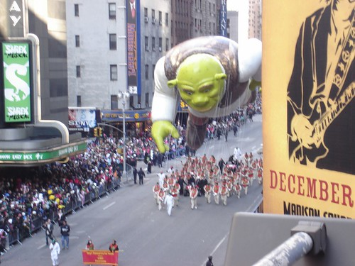 Thanksgiving Day parade - Shrek